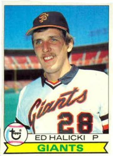 Photo of 1979 Topps #672 Ed Halicki