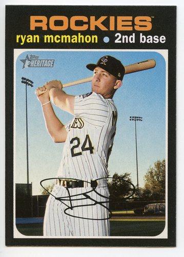 Photo of 2020 Topps Heritage #298 Ryan McMahon