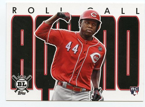 Photo of 2020 Topps Big League Roll Call #RC2 Aristides Aquino