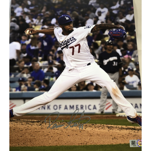 Photo of Dennis Santana Authentic Autographed Photograph