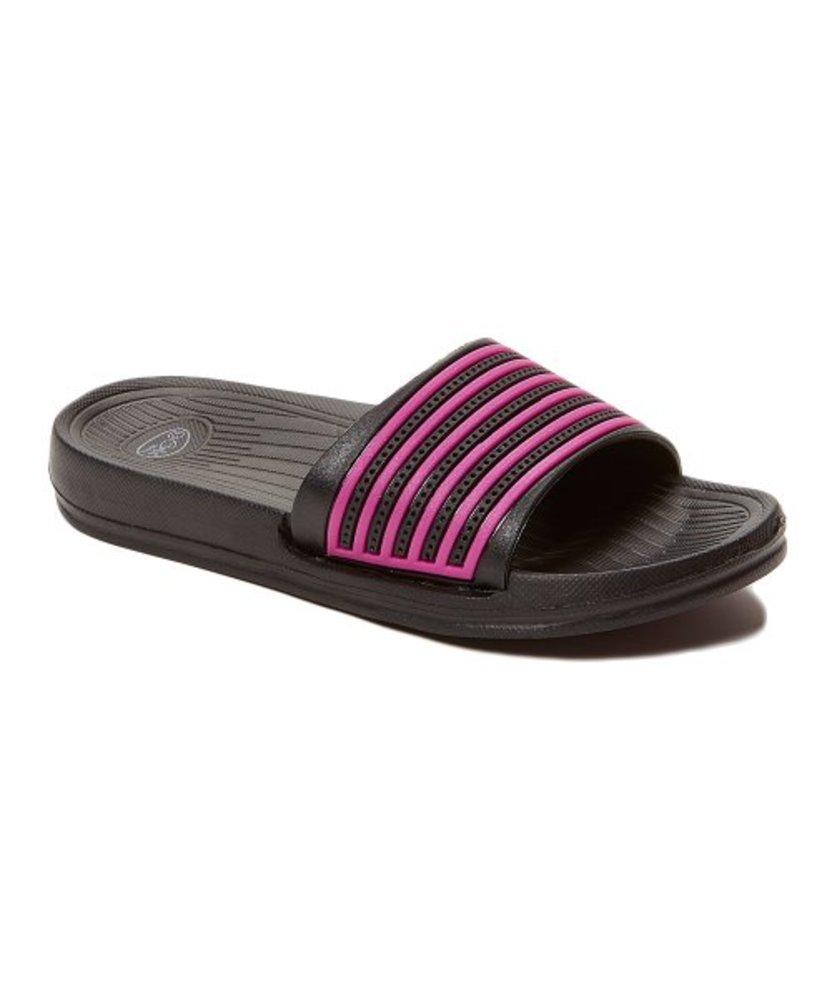 Photo of Blue Suede Shoes Stripe Slide