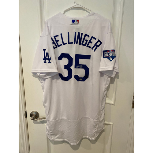 Photo of Cody Bellinger Autographed Authentic Los Angeles Dodgers Jersey
