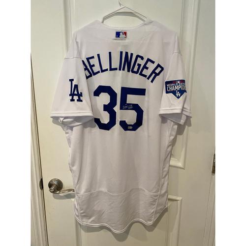 Cody Bellinger Autographed Authentic Los Angeles Dodgers Jersey