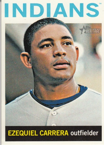 Photo of 2013 Topps Heritage #362 Ezequiel Carrera