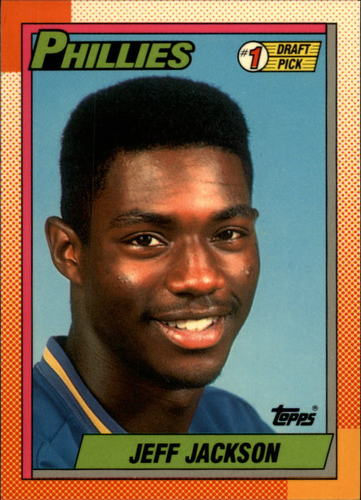 Photo of 1990 Topps Tiffany #74 Jeff Jackson FDP