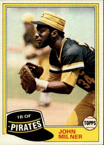 Photo of 1981 Topps #618 John Milner