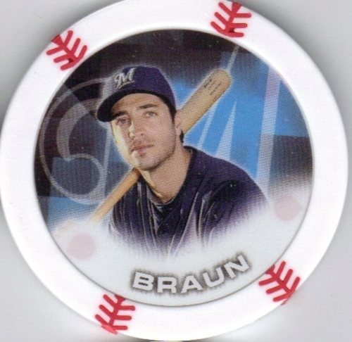Photo of 2014 Topps Chipz #8 Ryan Braun