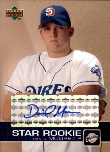 Photo of 2003 Upper Deck Prospect Premieres Autographs #P24 Daniel Moore RC AUTO