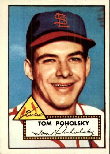 Photo of 1983 Topps 1952 Reprint #242 Tom Poholsky
