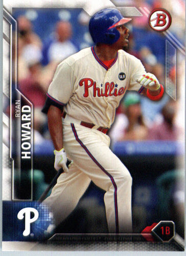 Photo of 2016 Bowman #66 Ryan Howard