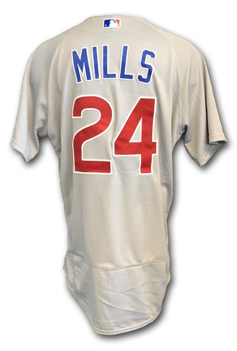 Photo of Alec Mills Game-Used Jersey -- Cubs at White Sox -- 9/22/18