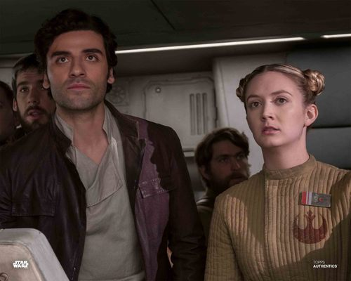 Poe Dameron and Lieutenant Connix