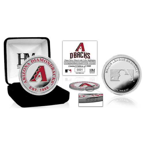 Photo of Serial #1! Arizona Diamondbacks Silver Color Coin