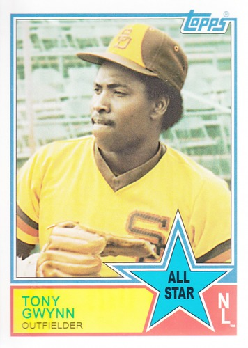 Photo of 2013 Topps Archives 1983 All-Stars #TG Tony Gwynn