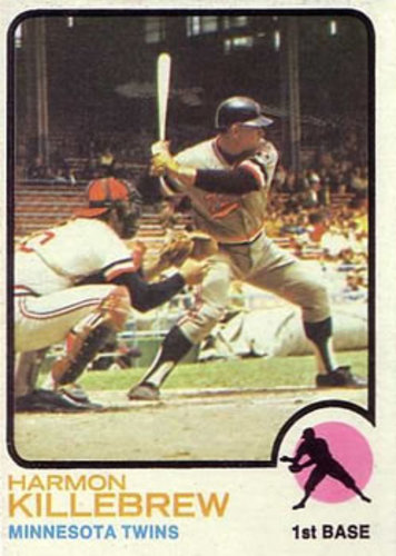 Photo of 1973 Topps #170 Harmon Killebrew