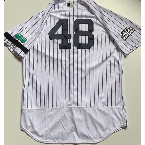 Photo of 2019 London Series - Game-Used Jersey - Tommy Kahnle, New York Yankees vs Boston Red Sox - 6/29/19