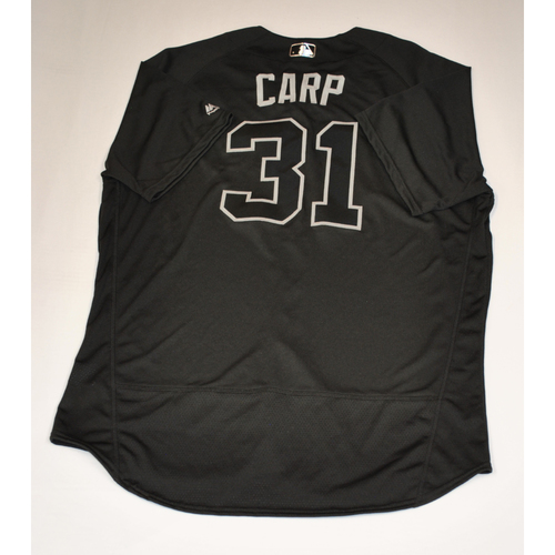 """Photo of Ryan """"CARP"""" Carpenter Detroit Tigers Team-Issued 2019 Players' Weekend Jersey"""