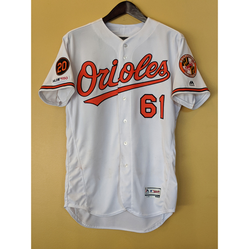 Photo of Austin Wynns - Home Finale Jersey: Game-Used (Innings 1-4)