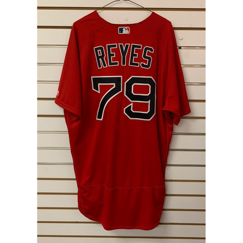 Photo of Denyi Reyes Team Issued 2019 Spring Training Jersey
