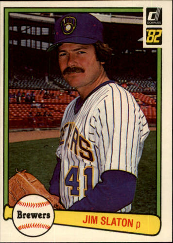 Photo of 1982 Donruss #80 Jim Slaton