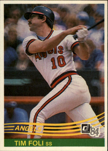 Photo of 1984 Donruss #474 Tim Foli