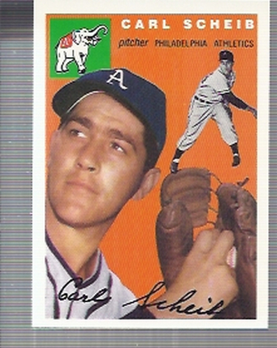 Photo of 1994 Topps Archives '54 #118 Carl Scheib