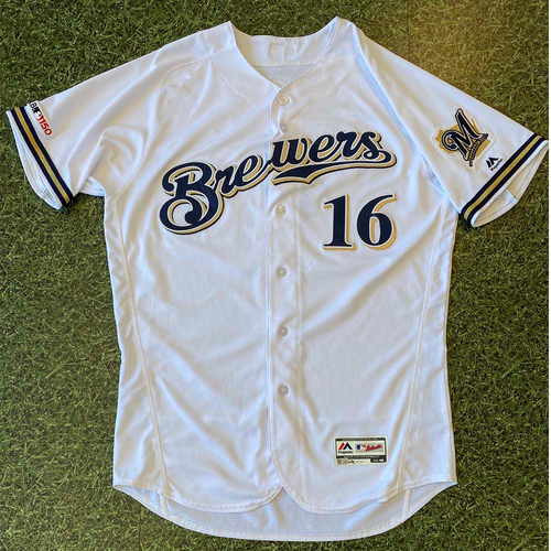 Photo of Game-Used Jersey: Ben Gamel #16 Opening Day 2019 (3/28)