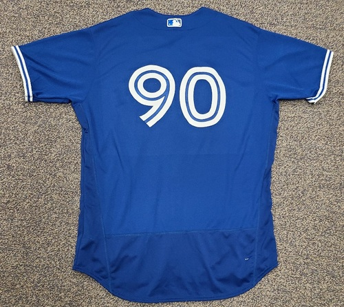 Photo of Authenticated Team Issued 2020 Spring Training Jersey: #90. Size 50