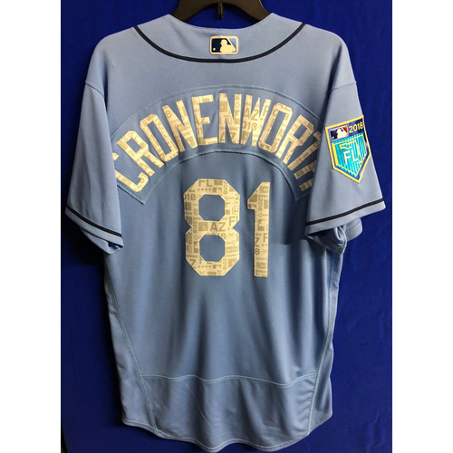 Photo of Team Issued Spring Training Jersey: Jake Cronenworth - 2018