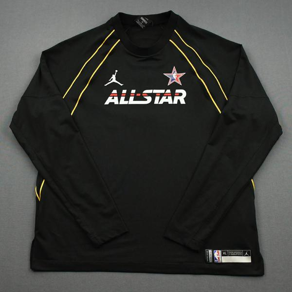Image of DomantasSabonis - Game-Worn 2021 NBA All-Star Long-Sleeved Shooting Shirt