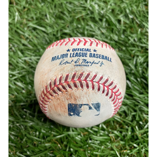 Photo of Game Used Baseball: Rowdy Tellez RBI double off Tyler Glasnow - Top 1 - April 23, 2021 v TOR