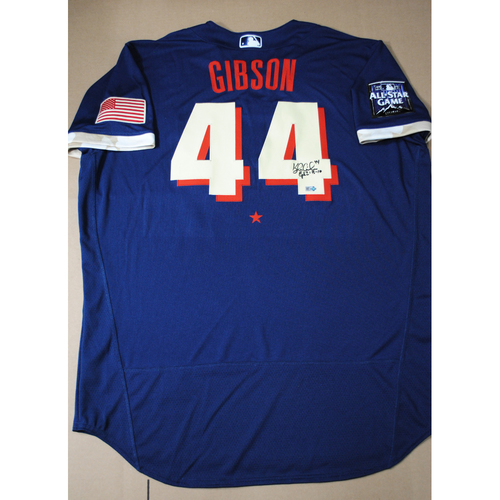 Photo of Kyle Gibson 2021 Major League Baseball All-Star Game Autographed Jersey