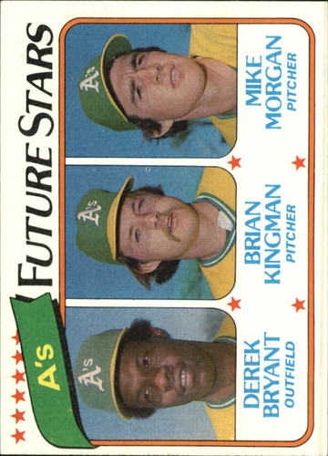 Photo of 1980 Topps #671 Derek Bryant RC/Brian Kingman RC/Mike Morgan RC