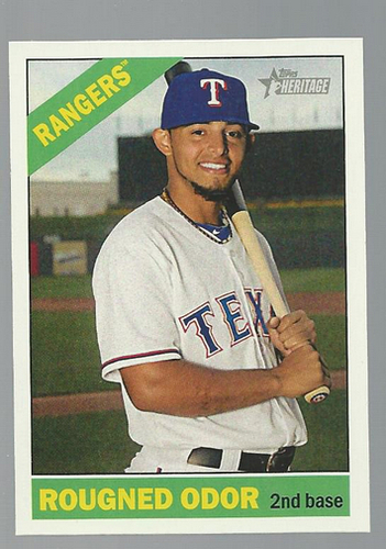 Photo of 2015 Topps Heritage #412 Rougned Odor