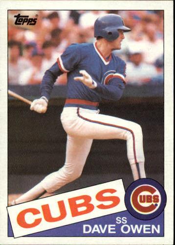 Photo of 1985 Topps #642 Dave Owen