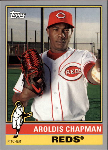 Photo of 2015 Topps Archives Silver #164 Aroldis Chapman