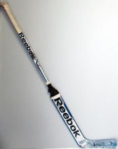 #32 Alex Stalock Game Used Stick - Autographed - San Jose Sharks
