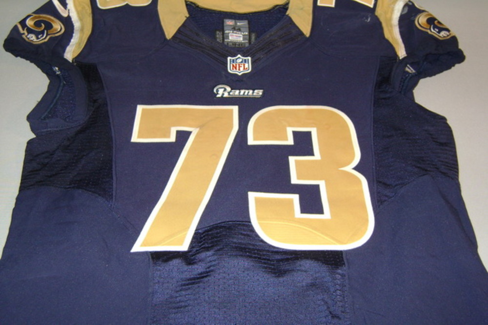 best loved 2f7df be617 NFL Auction   NFL INTERNATIONAL SERIES - RAMS GREG ROBINSON ...