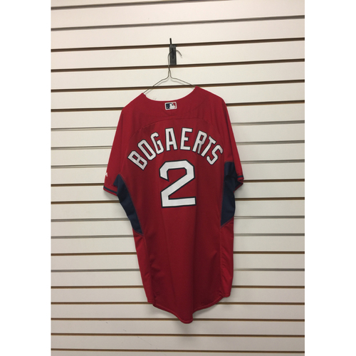 Xander Bogaerts Team-Issued Home Batting Practice Jersey