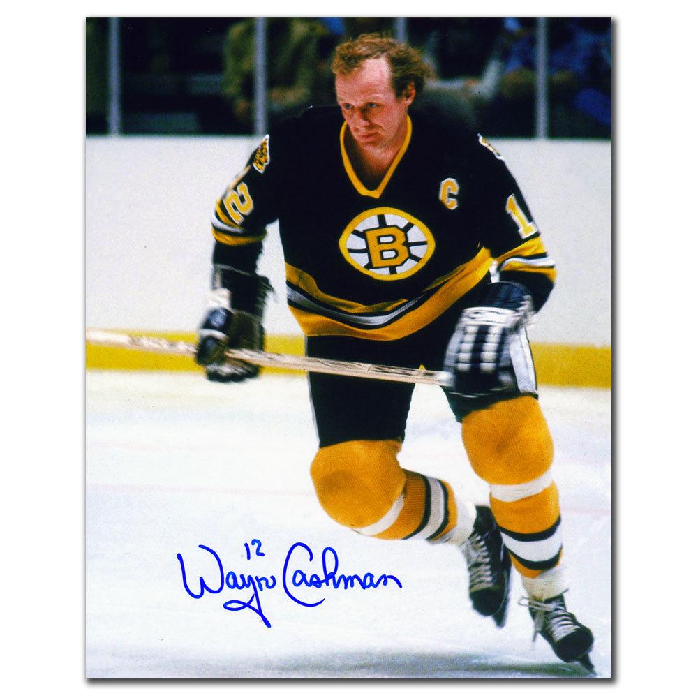 Wayne Cashman Boston Bruins BREAKOUT  Autographed 8x10