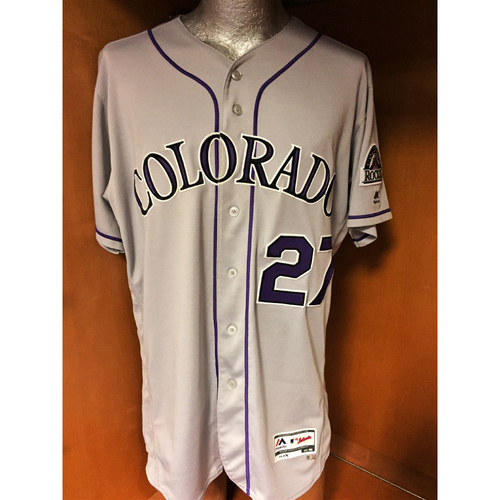 hot sale online be833 ce0b1 MLB Auctions | Colorado Rockies Trevor Story Game-Used ...