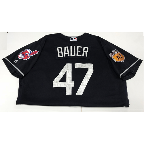 Photo of Trevor Bauer 2017 Spring Training Jersey