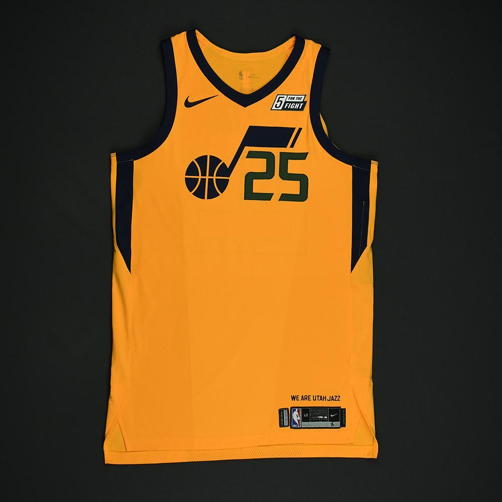 Raul Neto - Utah Jazz - Game-Worn 'Statement' Jersey - 2017-18 Season