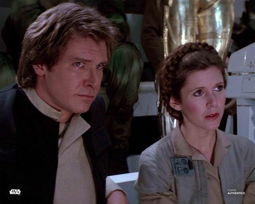 Han Solo and Princess Leia Organa