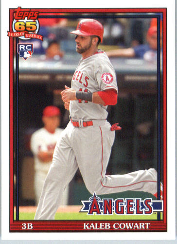 Photo of 2016 Topps Archives #291 Kaleb Cowart RC