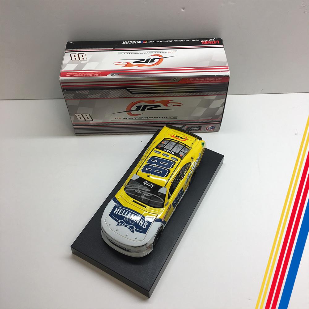 NASCAR's Chase Elliott autographed Helmann's diecast!