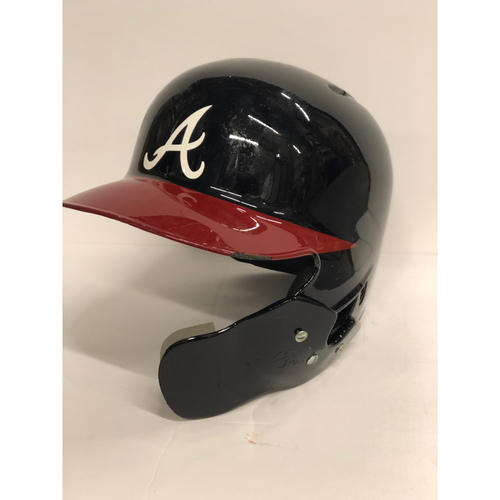 Photo of Kurt Suzuki Game-Used Postseason Batting Helmet - Worn 10/7/18 and 10/8/18 - Size 7 5/8