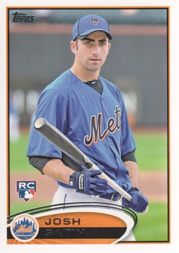 Photo of 2012 Topps #335 Josh Satin RC