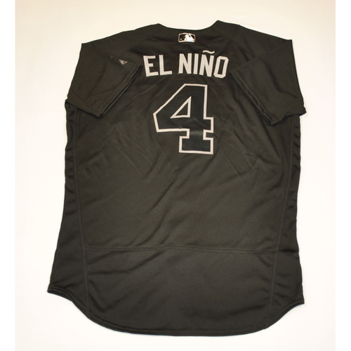 "Photo of Ketel ""EL NINO"" Marte Diamondbacks 2019 Game-Used Players' Weekend Jersey"