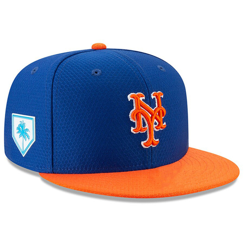 Photo of #24 Team Issued Blue and Orange Hat - 2019 Spring Training